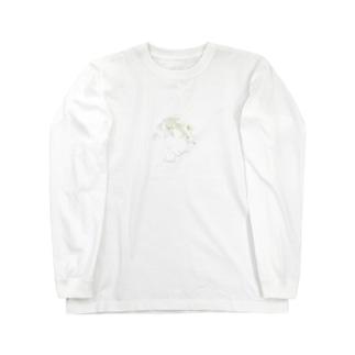 なびく Long sleeve T-shirts