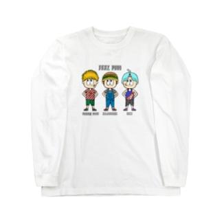 ジャンクフード/ファッション Long Sleeve T-Shirt
