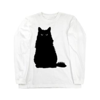 クロネコこぶお2021 Long sleeve T-shirts