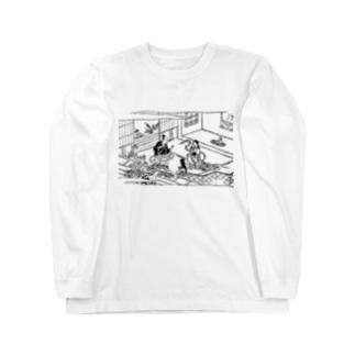 蛇性の淫 Long sleeve T-shirts