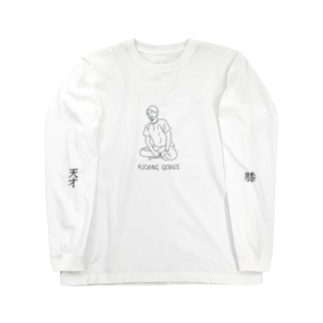 FUCKING GENIUSのFUCKING GENIUS_irasuto_L/S Long sleeve T-shirts