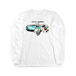 ミントチンク コックピット Long sleeve T-shirts
