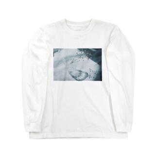 かすみ草の影をすり抜けて Long sleeve T-shirts