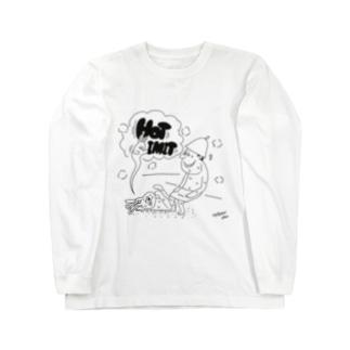 ととのい団【ホットリミット】ver Long sleeve T-shirts