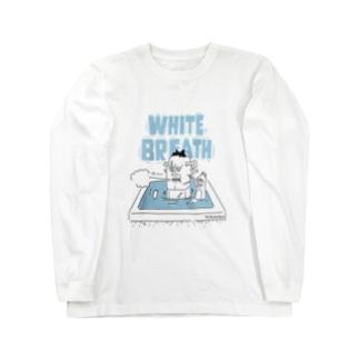 ととのい団【ホワイトブレス】ver Long sleeve T-shirts