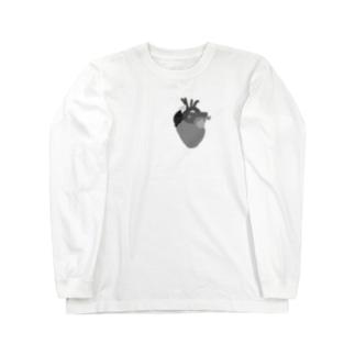 心臓 Long sleeve T-shirts