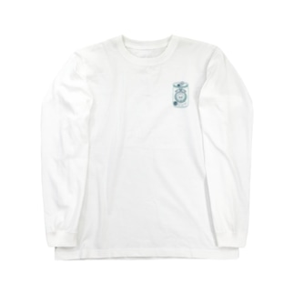 生ビールたぬき Long sleeve T-shirts