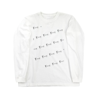 福がカエル Long sleeve T-shirts
