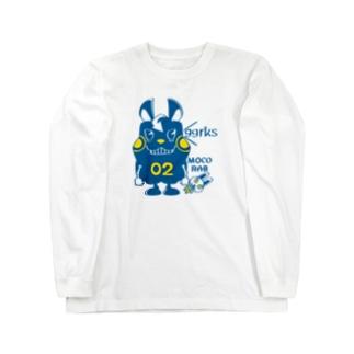 CT124 モコモコラビット2号*ggrks Long sleeve T-shirts