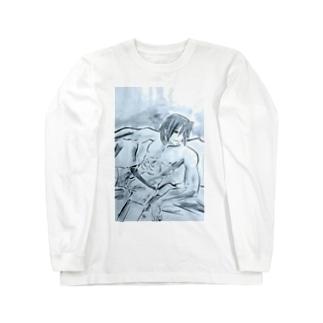 アース Long sleeve T-shirts