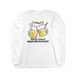 CT125 BEER!BEER!BEER! Long sleeve T-shirts