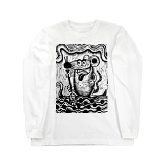 Waka rat  Long sleeve T-shirts