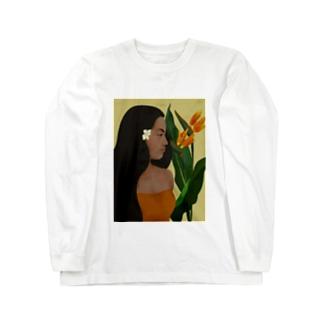ポリネシアン in hawaii Long sleeve T-shirts