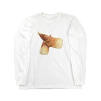 たけのこ Long sleeve T-shirts