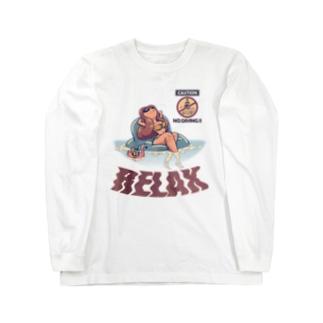 """""""RELAX"""" Long Sleeve T-Shirt"""