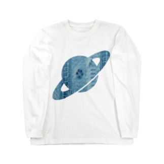 OTTER A 惑星 Long sleeve T-shirts