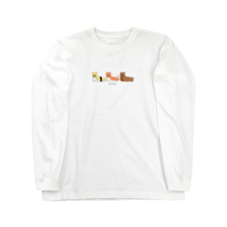 ウミスシ Long sleeve T-shirts