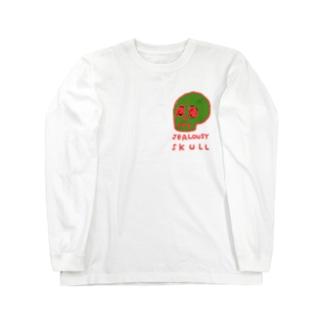 JEALOUSY SKULL Long Sleeve T-Shirt