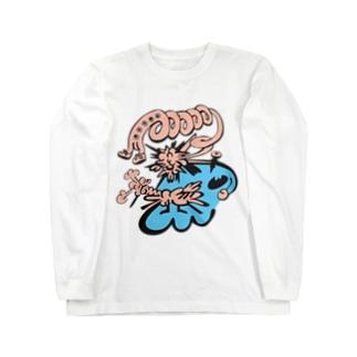 DHKN10 burst Long sleeve T-shirts