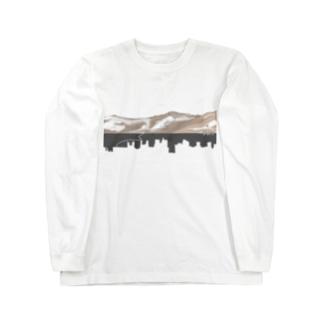 テレワーク(ロングスリーブTシャツ) Long sleeve T-shirts
