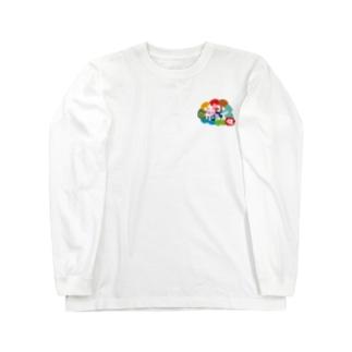 ポコガールズ(仮)裏表プリントグッズ Long sleeve T-shirts
