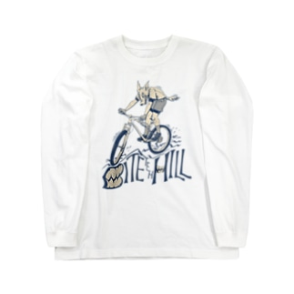 """BITE the HILL"" Long Sleeve T-Shirt"
