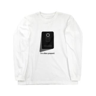 インターホン Long sleeve T-shirts
