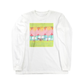sweet afternoon Long sleeve T-shirts
