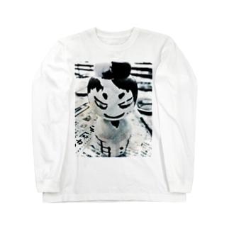 NKこけし Long sleeve T-shirts