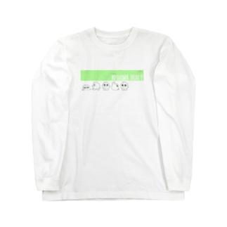 けだまダイアリー Long sleeve T-shirts