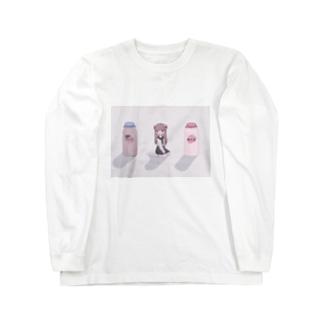 おやつの時間のcalcium Long sleeve T-shirts