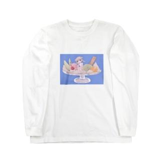 おやつの時間の🍮˚ °  Long sleeve T-shirts