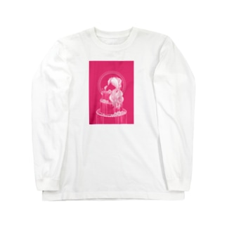 薔薇色 Long sleeve T-shirts