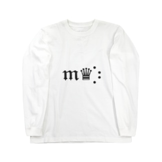 𝔪♛︎⡱ 推しマグッズ Long sleeve T-shirts