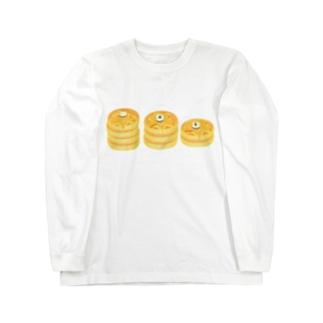 パンケーキたべたい! Long sleeve T-shirts