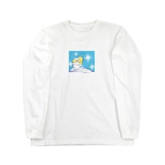 サ女子〜水風呂time〜 Long Sleeve T-Shirt