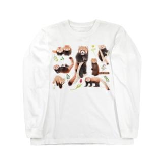 レッサーパンダ2021B Long sleeve T-shirts