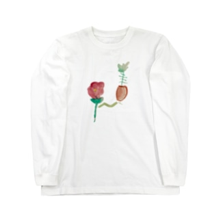 jacob6kikiの私の庭 Long sleeve T-shirts