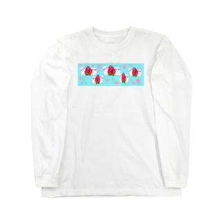 あま〜い♩苺だいふく小鳥♩ Long sleeve T-shirts