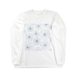 ハナビ Long sleeve T-shirts