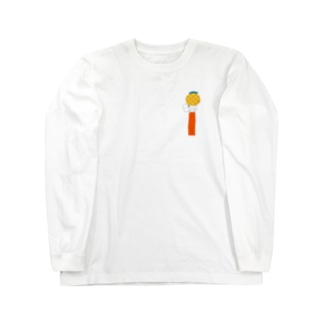 パイナップルピアス Long sleeve T-shirts