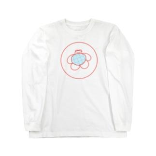 スヤスヤくま Long sleeve T-shirts