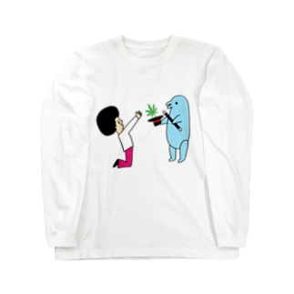 花くまゆうさくの手品A Long sleeve T-shirts