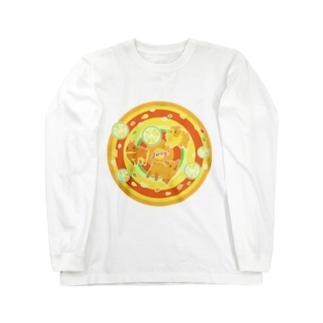 ジューーシーー! Long sleeve T-shirts