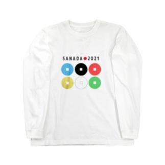 真田幸村【東京オリンピック記念】 Long sleeve T-shirts