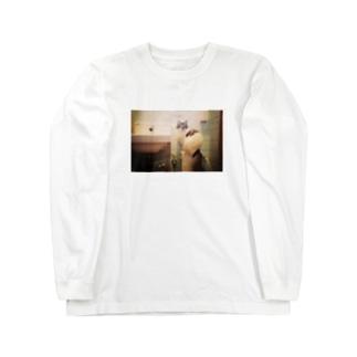 洗面台猫 Long sleeve T-shirts
