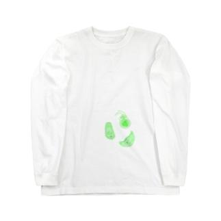 薄い微生物 Long sleeve T-shirts