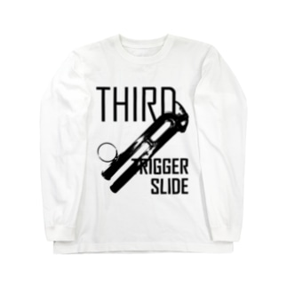 THIRD -TRIGGER&SLIDE- Long sleeve T-shirts