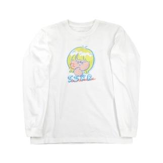 ササクレ Long sleeve T-shirts