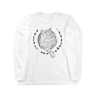 ホール イン ニャン Long sleeve T-shirts